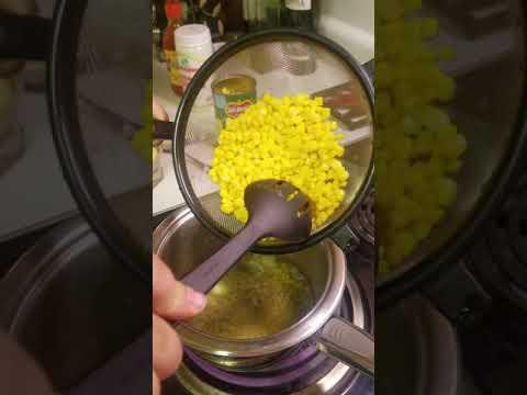 How to make elote en un vaso.