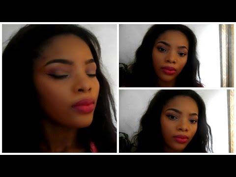 Full Face Pink Glam Makeup Tutorial