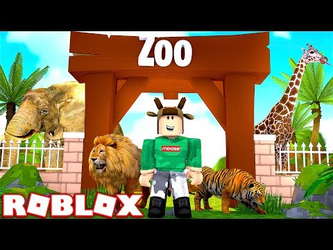 BUILDING WORLD'S BIGGEST ZOO IN ROBLOX! (ROBLOX ZOO SIMULATOR)