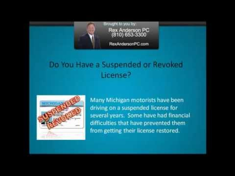 Michigan Drivers License Restoration