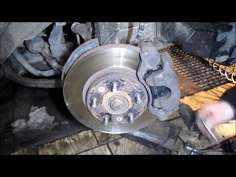 MAZDA 6 Front Brake Pads Replacement