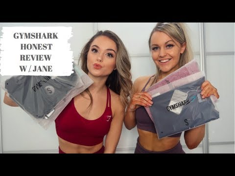 FUN & HONEST GYMSHARK REVIEW W/ JANE // Squat test and boob sweat