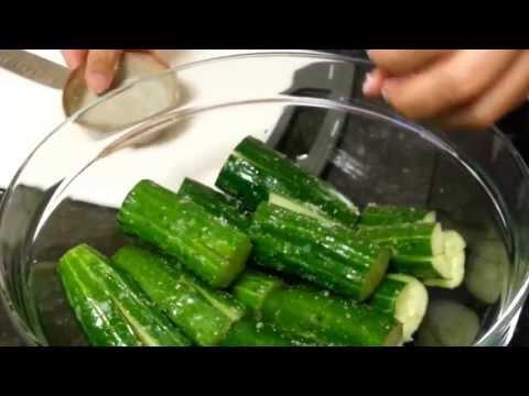 How to make Cucumber Kimchi (오이 소박이)