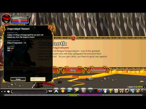 AQWorlds : How to open nulgath's shop