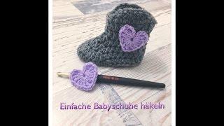 Anleitung Babyschuhe Häkeln Teil 13 Sohle Diy By Nelec
