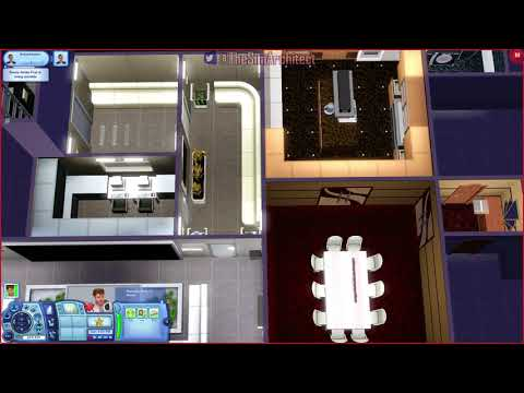 The Sims 3 LIVE! Building a Bunker House - Part 10 Lots of Fun Building Lost with Game Crash!