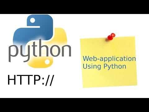 Creating a web-application in Python [PART 2]