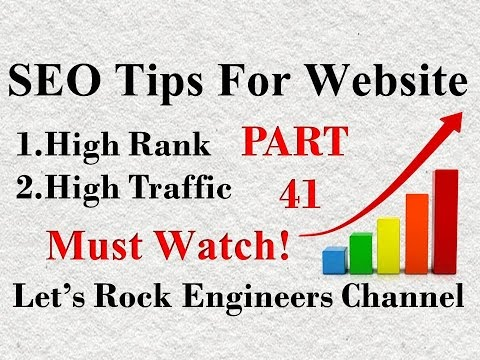 SEO TIPS FOR WEBSITE 2017-2018 (Hindi) PART - 41
