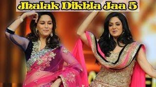 Sridevi & Madhuri Dixit shake a leg on Jhalak Dikhla Jaa 5 GRAND FINALE