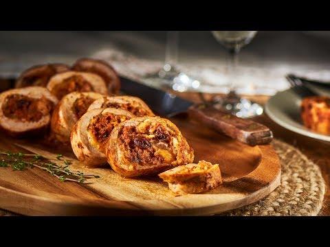 Chorizo Stuffed Pork Tenderloin