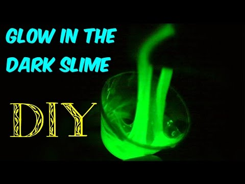 How to Make Glow in the Dark Slime without Black Light?