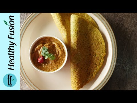 Daal Roti with Lehsan Chutney Recipe By Healthy Food Fusion