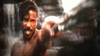 BLACK PANTHER (2018): KILLMONGER VS BLACK PANTHER .......||FIGHT SCENE||