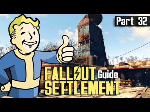 Fallout 4 - SETTLEMENT BUILD GUIDE 32 - Starlight Drive In
