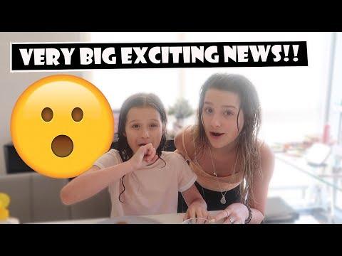 Very Big Exciting News! 😮 (WK 381.2)   Bratayley
