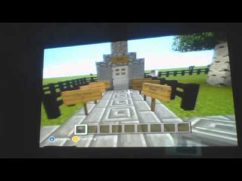 Minecraft Xbox 360 Edition Doctor Who Tardis