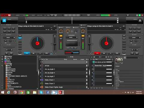 How To Add Samplers To VDJ 8