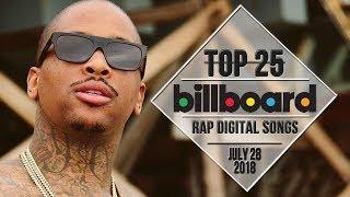 Top 25 • Billboard Rap Songs • July 28, 2018   Download-Charts