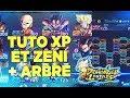 TUTO XP PERSONNAGES  ET FARM ZENI RAPIDEMENT / ARBRE DE COMPETENCE| DRAGON BALL LEGENDS FR