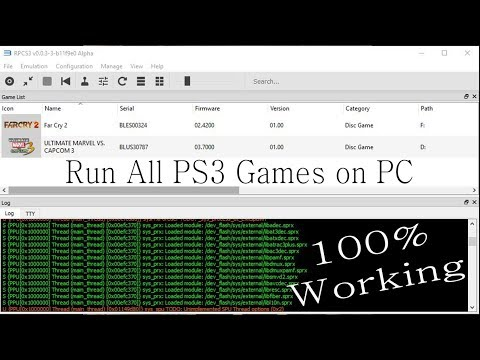 PS3 Emulator 2017 for PC - Download and Configuration Start to Finish