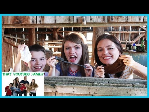 Making Slime In 100 Year Old Barn / That YouTub3 Family