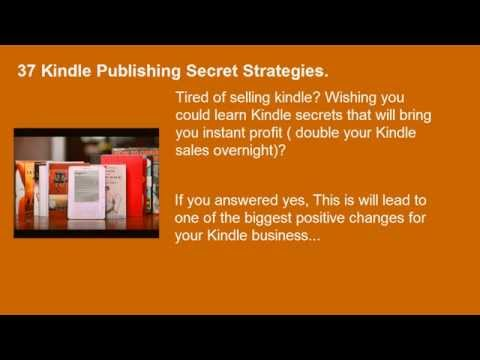How To Increase Amazon Kindle eBooks Sales - Kindle Publishing and Marketing Online Course
