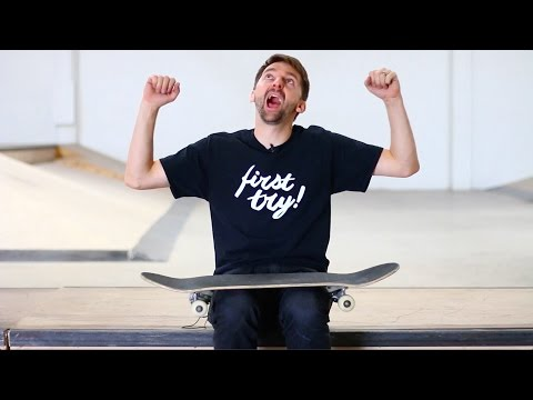 THE EASIEST SKATEBOARD TRICK TO LEARN FAST!