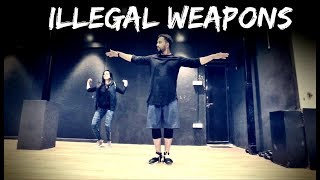 ILLEGAL WEAPONS | Jasmine Sandlas ft.Garry Sandhu | Tejas Dhoke Choreography | Dance Fit Live