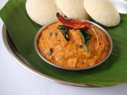 onion chutney/vengaya chutney recipe in tamil/tomato chutney (வெங்காய சட்னி)