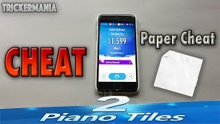 HOW TO CHEAT ON PIANO TILES 2