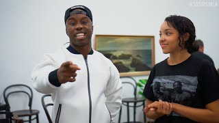 Tinashe learns a dance with WilldaBEAST Adams | #RBSoundSelect #30DAYSINLA