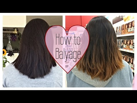✿DIY: How to Balayage Ombre / Ombre Hair ❁ Loreal Ombre Touch At Home