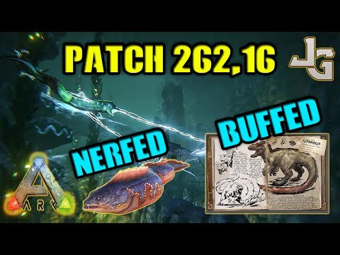 ARK - Eels NERFED - Yutyrannus BUFFED - Patch 262.16
