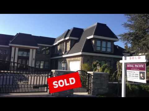 Sold Luxury House at Highest Price in Richmond BC Canada 2013