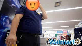 fight with walmart manager leads to broken camera... (not clickbait)