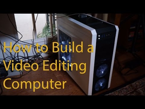 Video Editing PC Computer