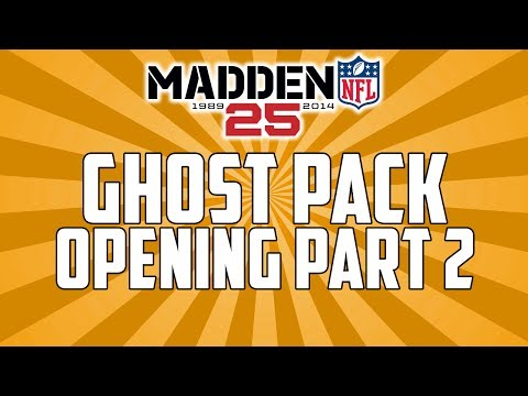 Madden 25 Ultimate Team | Ghost Pack Opening #2 | MUT 25 Ghost Pack