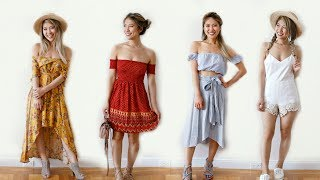 20 Days of Outfit Ideas! How to Style Dresses!