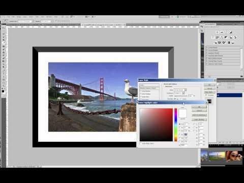 Digital Frame in Photoshop