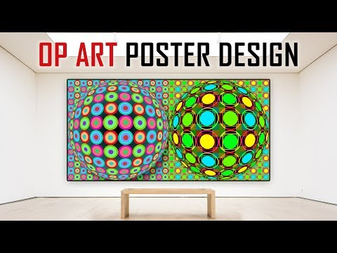 Photoshop: OP ART - How to Create Your Own Eye-Catching, Op Art Poster