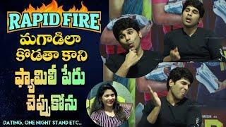 Rapid Fire - Allu Sirish on dating an actress, Mahesh Babu, NTR, Pawan Kalyan, Balakrishna & more