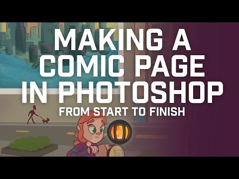 Making a Comic in Photoshop from Start to Finish