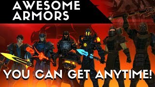 AQ3D New Moglomancer, Paladin And Ninja ARMORS