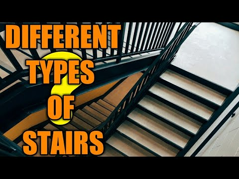 Different Types Of Stairs || Civil Facts