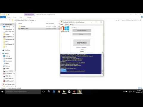 How To  Activate Microsoft Office 2016 Official using Product Key Activator Crack Kms  Permanently