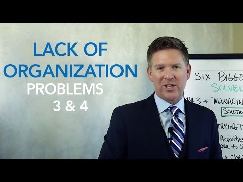 Time Management & Organization - Solving Real Estate's Six Biggest Problems