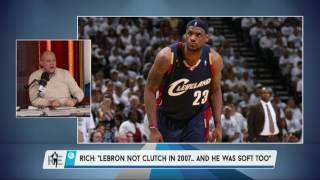 Rich Eisen Has Some Intriguing Thoughts on Lebron James - 4/21/17