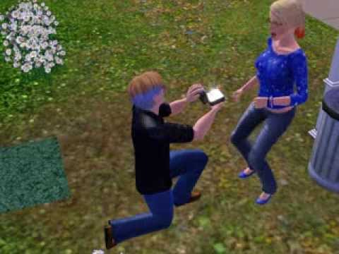My Sims Get Engaged! :3