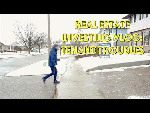 Real Estate Investing Vlog Episode 3: Tenant Troubles