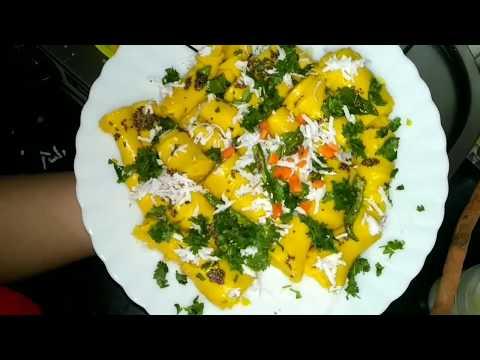 Gujrati Khandvi recipe in Hindi - How to make perfect n easy Khandvi at home - DIY Besan Khandvi